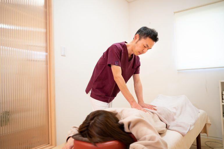 施術開始|若林区のおきの鍼灸整骨院